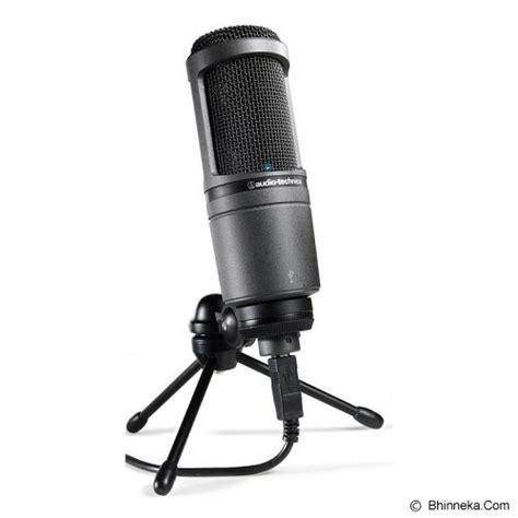 jual audio technica condenser microphone at2020 usb