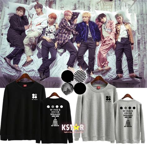 Bts Wings Sweater bts wings sweater 183 k 183 store powered by storenvy