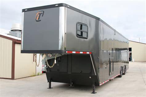 trailer bathroom 42 custom race trailer with bathroom package custom