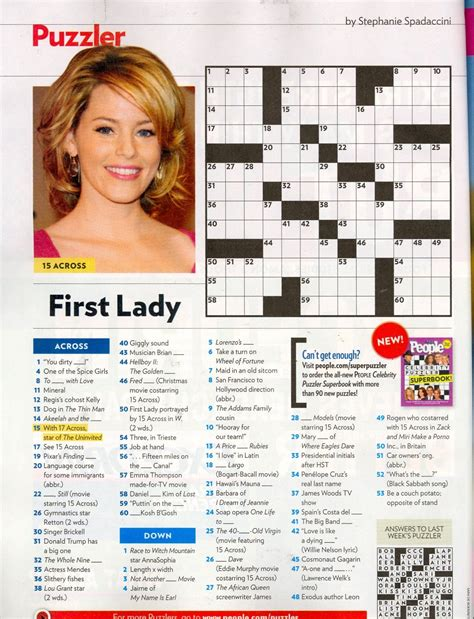 game of thrones actor mark crossword clue that time i was in people magazine s crossword tbt