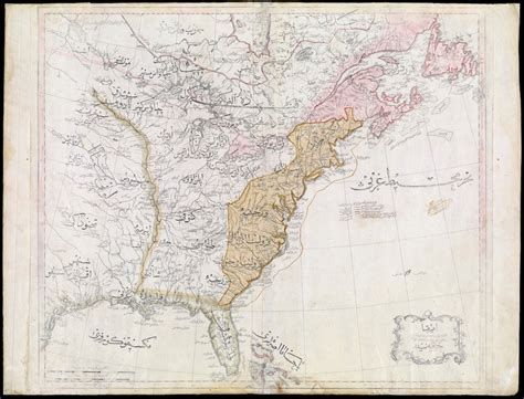 The History Of The Ottoman Empire History Of The Ottoman Empire Ottoman Map Of The United States In 1803
