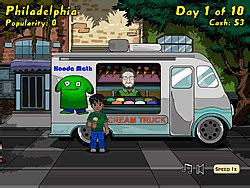 Ice Cream Truck Game - Play online at Y8.com Y8 Bad Ice Cream 2 Player