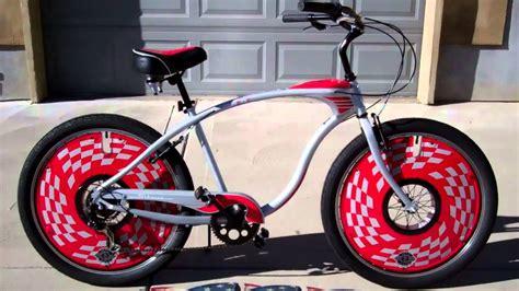 schwinn corvette cruiser schwinn corvette cruiser bicycle with deko discs wheel