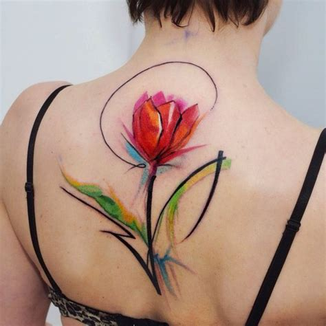 tulip flower tattoo designs 211 best images about flowers on on