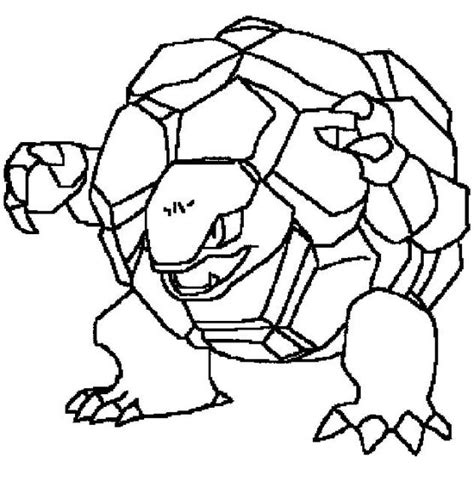 pokemon coloring pages geodude pokemon coloring page 076 golem coloring pages