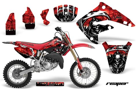 design graphics for dirt bike honda cr85 graphic kit stickers and decals honda cr85