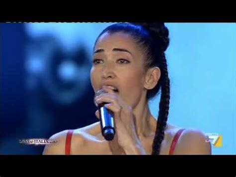 cinquantamila lacrime testo miss italia a miss italia 2013 zilli canta