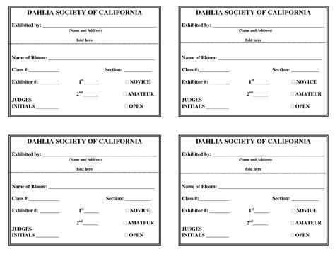 registration card template free for recalls 26 images of car show entry form template leseriail