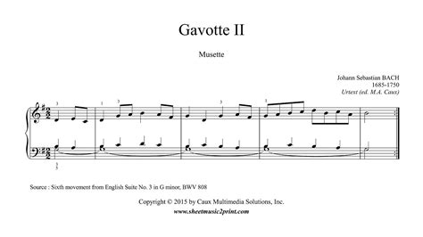 gavotte song in the musical based on george bernard shaws pygmalion and the 1964 film adaptation of the same name bach gavotte ii musette from english suite no 3 bwv