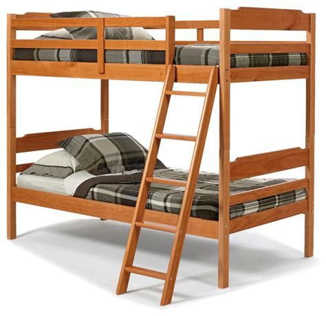 Stackable Bunk Beds by Chelsea Home Stackable Bunk Bed In Honey