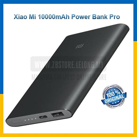 Original Xiaomi Mi 2 Pro Powerbank 10000mah Slim Fast Charging original xiaomi mi powerbank power b end 8 12 2018 2 15 pm