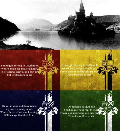 harry potter house hogwarts house quotes quotesgram