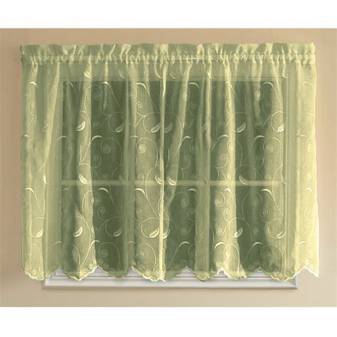 hathaway curtains hathaway tailored tier curtains