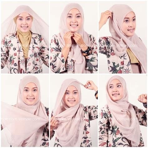 tutorial hijab paris a touch of feminity by laili noura 1000 images about hijab on pinterest simple hijab
