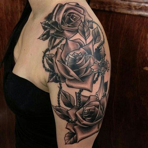 rose rosary tattoo tattoos amp piercings pinterest
