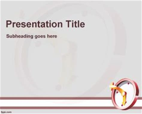 ppt templates for time management free download time management training powerpoint template free download