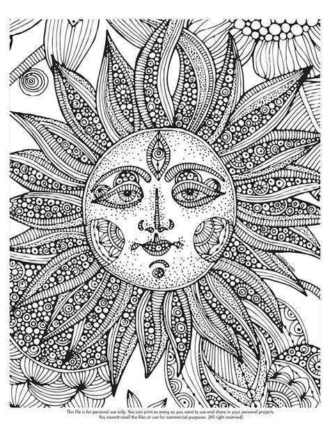sun coloring page pdf adult coloring pages of the sun coloring home