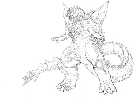 mechagodzilla coloring pages  getcoloringscom