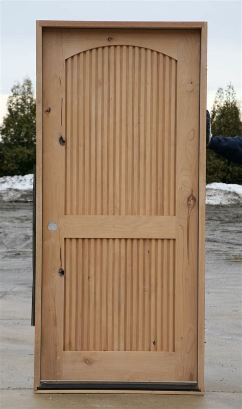 Rustic Wood Exterior Doors Rustic Wood Doors With Fluted Panels Quot Stunning Quot