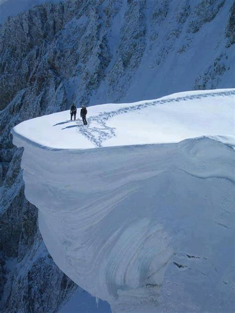 Cornice Snow survives 1 000 foot fall after cornice breaks in revelstoke b c snowbrains
