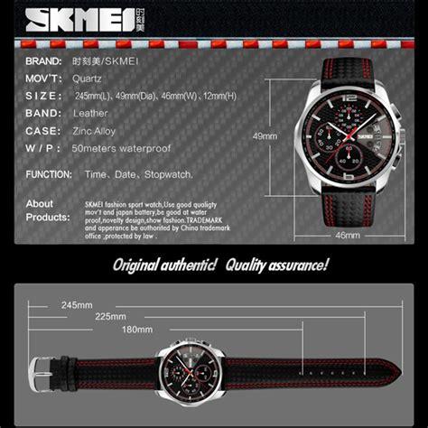 Jam Tangan Pria Skmei Original Analog 8140 skmei jam tangan analog pria 9106 blue