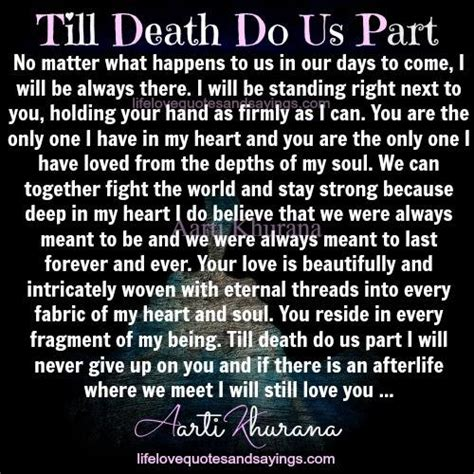 till do us part you still me quotes and sayings