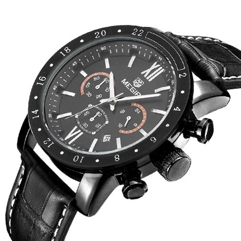 megir jam tangan analog ml3008g black jakartanotebook
