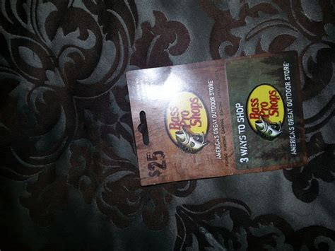 Where To Get Bass Pro Gift Cards - 25 bass pro gift card get it now for 40000 credits which is really free places to
