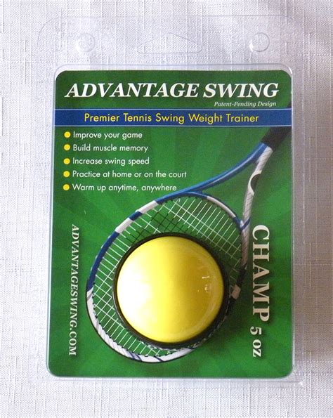 swing weight tennis tennis swing weight trainer 5 oz ch tennis
