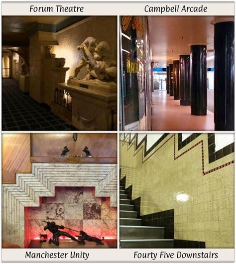 art deco interior design  melbourne