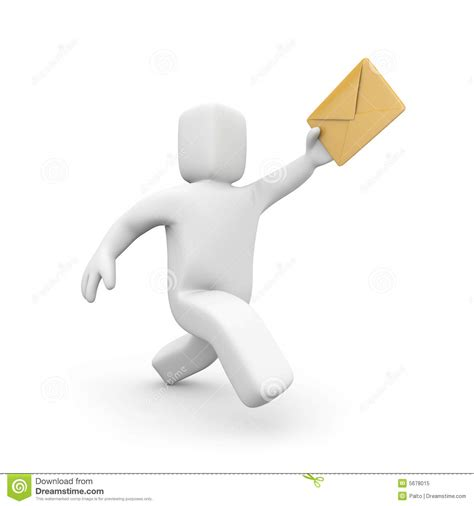 mail delivery postman mail delivery royalty free stock photo image