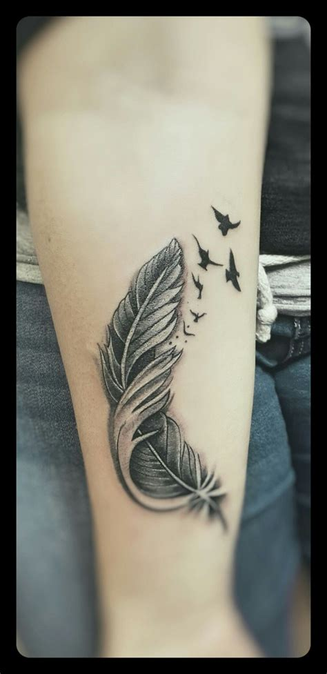 feather sleeve tattoo pin by liane siemers on tattooed tattoos