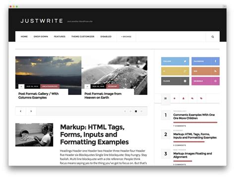 wp template 30 best free responsive magazine themes 2017