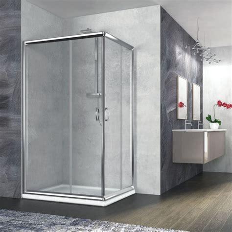 doccia 70x100 box doccia angolare rettangolare 70x100 quaranta
