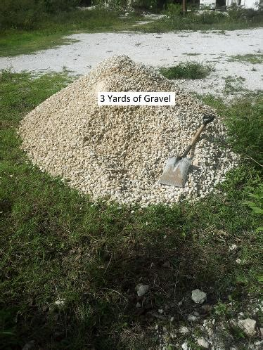 2 Yards Of Gravel Gravel Barrie Delivery Sand Stones Limestone Screenings