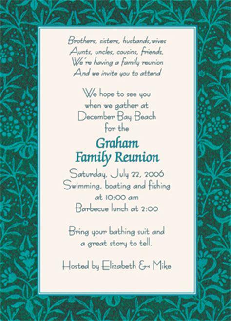 family reunion invitation style wmfr 08