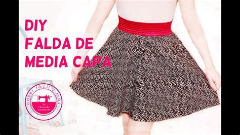 como hacer una falda cana media c 243 mo hacer una falda de media capa semicircular youtube