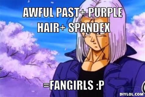Spandex Meme - image marron meme generator awful past purple hair