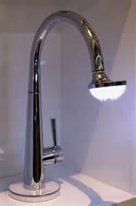 Sun Faucet Nobili Spa Sun Lamp Faucet Lights Up Your Sink Craziest