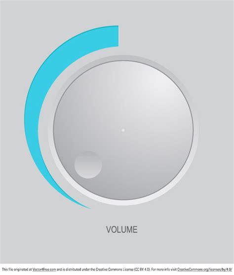 Knob Volume volume knob free vector