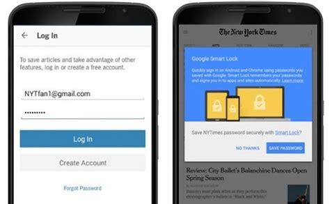 menonaktifkan google smart lock  menghapus akun