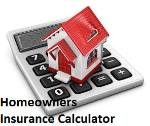 homeowners insurance calculator