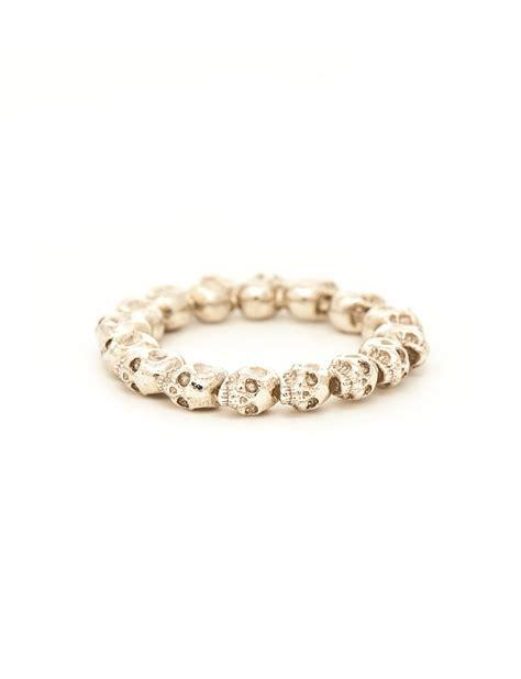 white gold skull rosary ring by juliadeville e g etal