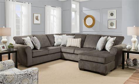 harlow ash  piece sectional sofa living room