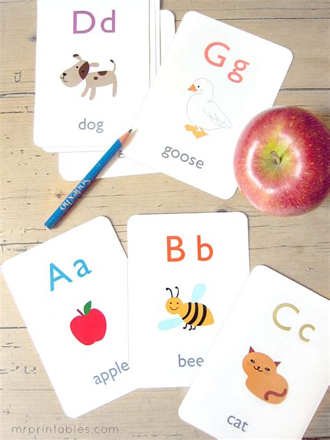 Printable Google Play Gift Card - alphabet flashcards 2013 english4kids