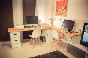 Office Desk Ikea Hack Alex Hammarp Home Office Ikea Hackers Ikea Hackers