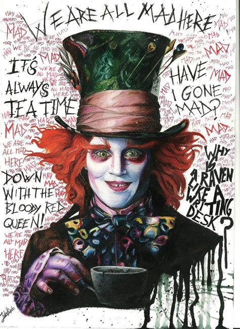 mad for mad hatter funny quotes quotesgram