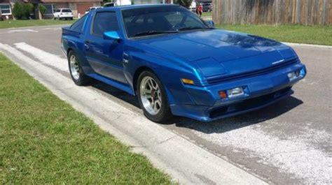 1988 Chrysler Conquest Tsi by High Horsepower 1988 Chrysler Conquest Tsi Bring A Trailer