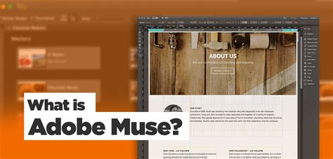 web layout muse what is adobe muse website builder adobe software overview