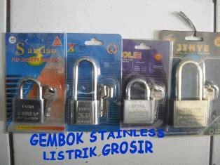 Gembok Toko bukan grosir listrik toko alat listrik kunci gembok